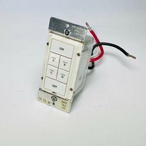 Insteon Smarthome KeypadLinc On/Off Switch (Dual-Band) Model 2487S - White