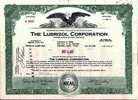 Lubrizol Corporation Stock Certificate Berkshire Hathaway