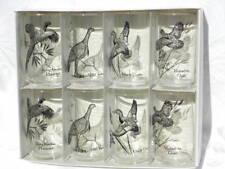 Set 8 Vintage Anchor Hocking Outdoorsman 12 oz. Beverage Glasses w/Gamebirds #1