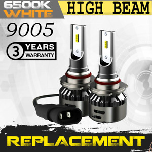 2x Bulbs 9005 LED 8000LM Bright White 6500K High Beam 2009-2019 GMC Savana 4500