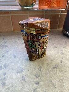Ceylon Pure Black Loose leaf tea 100g empty Tin Orange & Cinnamon Battler London