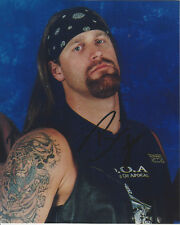Wwf Brian Lee - Chainz an imposter of The Undertaker autographed photo