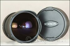 Rokinon (Samyang) 8mm f/3.5 Aspherical Fish Eye (Fisheye) Lens For Sony - Mint