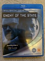 Enemy Of The State (Blu-ray, 2007) - Will Smith, Gene Hackman