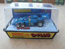 RARE AURORA AFX G-PLUS TYRRELL P34 F1 ELF CUSTOM 6 ALUMINIUM WHEELS BOXED CLAM