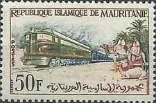 Timbre Trains Mauritanie 161 ** lot 6354