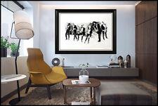 LeRoy Neiman Jazz Suite Six Saxmen Color Lithograph Large Signed ORIGINAL Art