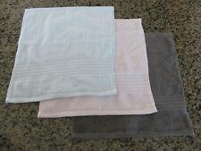 RALPH LAUREN Wash Cloth Greenwich Gray Pink Light Blue