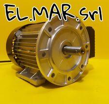 Motore Elettrico Monofase x Mulino HP 2 KW 1,5 Flangiato B5 Alta Coppia +Piedini