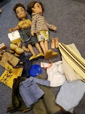Bratz Doll Lot Clothes Shoes Dolls Boyz Dylan and other