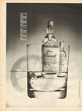 Publicité  Advertising 1964  Rhum Clément  GRAPPE BLANCHE