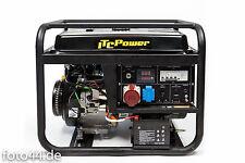 STROMAGGREGAT STROMERZEUGER 8,3 kVA ITC POWER GG9000LEK-3-LPG Gas o. Benzin 400V