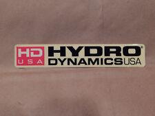 VINTAGE HYDRO DYNAMICS USA AUTO CAR OFF ROAD RACING GARAGE SHOP STICKER DECAL