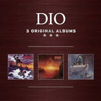 DIO - 3 ORIGINAL ALBUMS  3 CD NEW+