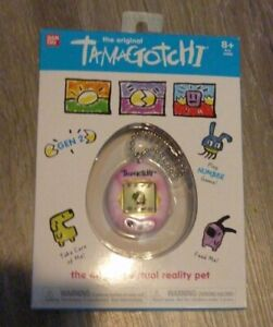 The Original Tamagotchi Gen 2 Virtual PINK MULTICOLORED FREE SHIPPING