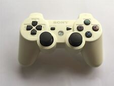 Official Original Genuine Sony PS3 Playstation 3 Six Axis off White Controller
