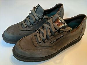 Mephisto Mens Size 10.5 Leather Lace Up Casual Comfort Sneaker Shoes