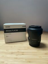Sigma 35mm f/1.4 DG HSM Art Lens for Canon