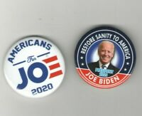 2020 pin 2 JOE BIDEN pinback DEMOCRATIC PRIMARY Campaign buttons