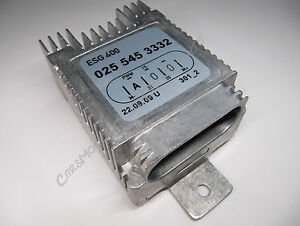 MERCEDES Régleur du ventilateur APPAREIL DE COMMANDE Radiateur W202 W210 SLK
