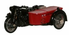 Oxford 76BSA003 Royal Mail BSA Motorcycle & Sidecar 1/76 Scale = 00 Gauge New