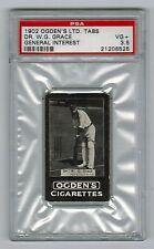 PSA 3.5  W.G. GRACE  Cricket Card 1902 Ogden Cigarettes General Interest Series