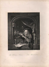 1850 PRINT ~ THE WRITING MASTER ~ GICLEE
