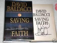 Saving Faith by David Baldacci          *Signed*