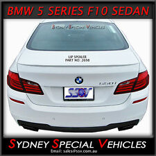 LIP SPOILER OR BOBTAIL FOR BMW 5 SERIES F10 2011-14 SEDAN - NEW ABS