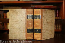 ✒ TRES RARE EO 1830 César DESPRETZ Elemens CHIMIE - 5 planches Classification