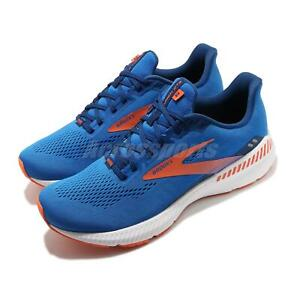 Brooks Launch GTS 8 Blue Men Support Speed Road Running Shoes 1103591D-463