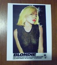 BLONDIE DEBBIE HARRY ON PRIVATE STOCK RECORDS  ROCK POSTER PRINT  6X10