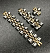Rolex Oyster Jubilee Ladies Bracelet 14k Steel Two-Tone 10mm FOR PARTS REPAIRS