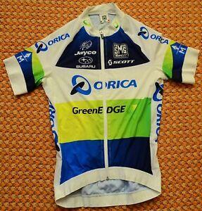 Orica Green Edge, Santini Cycling Shirt, Size Ladies XL - Large