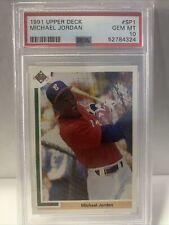 1991 Upper Deck Baseball #SP1 Michael Jordan Rookie Card RC PSA 10 Gem Mint Sox