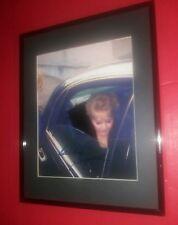 """Debbie Reynolds"" signed photo!...Ultra-Rare!...Limo shot!"