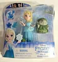 Disney Princess Frozen Little Kingdom Elsa & Grand Pabbie Snap-Ins Doll Play Set