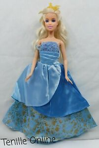 New clothes outfit princess wedding gown dress beautiful fairytale barbie