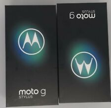 Moto G Stylus phone EMPTY BOX WITH Manual a Lot of 2