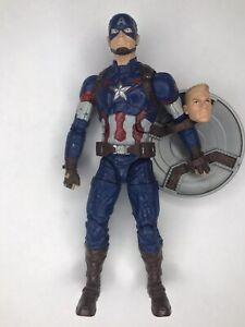 Marvel Legends Captain America, Age of Ultron, Thanos BAF, Avengers, Loose
