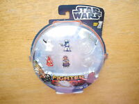 Star Wars Fighter Pods Set #1: 4 Figuren Figurines + 2 Pods, Hasbro #38488 boxed