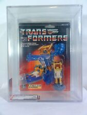 1990 Transformers AFA 75 Minibot Chinese Re Issue Seaspray Sealed MISB MIB BOX