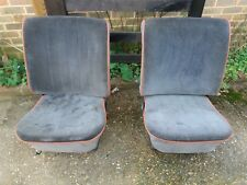 VW CLASSIC BEETLE 1968-1972 LOW BACK FRONT SEATS IN GOOD CONDITION, KT6 COLLECT
