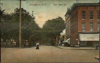 Norwich NY East Main St. c1910 Postcard