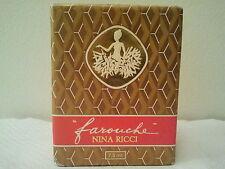 VINTAGE 1970s NINA RICCI FAROUCHE WOMEN PURE PARFUM PERFUME FRAGRANCE 7.5ML MINT
