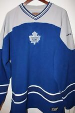 XL Toronto Maple Leafs NHL Hockey Home Jersey Blue 100% polyester