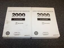 2000 Pontiac Bonneville Service Information Repair Manual Set SE SLE SSEi 3.8L