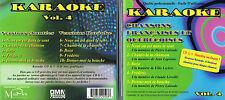 Karaoke Chansons Francaises/Quebecoises #4 -CD+G BRAND NEW, MusicaMonette Canada