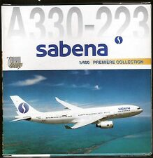 Dragon Wings Sabena Airlines A330 1/400 Diecast Plane Model 55399
