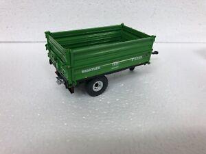 WIKING Brantner 3 way tipping trailer, slight damage, spares/conversion parts